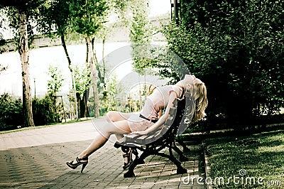 Girl outdoor
