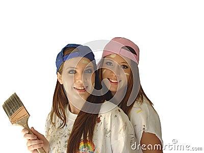 girl painters