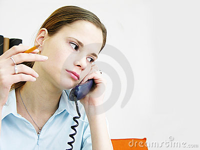 Girl on the phone 2