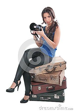 The girl the photographer