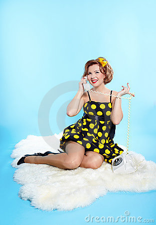 Girl pin up