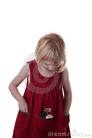 Girl playing with pet mouse