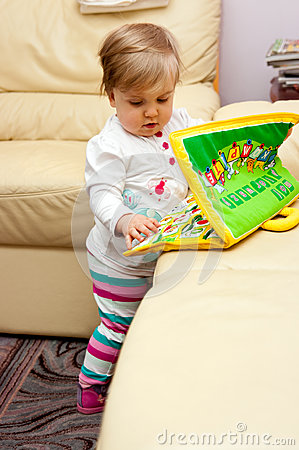 Girl Playing With Toys Stock Image - Image: 27789621