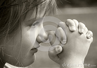 Girl in Prayer