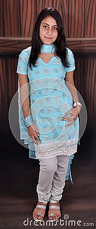 Girl in punjabi suit