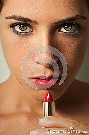 Lipstick Girl