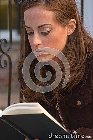 Girl Reading 1