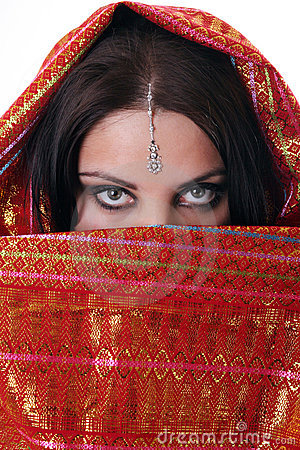 Girl in red kerchief