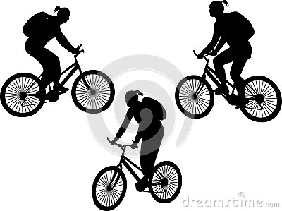 Girl Riding Bicycle Stock Photos - Image: 9982833