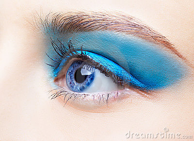 Girl s eye-zone makeup