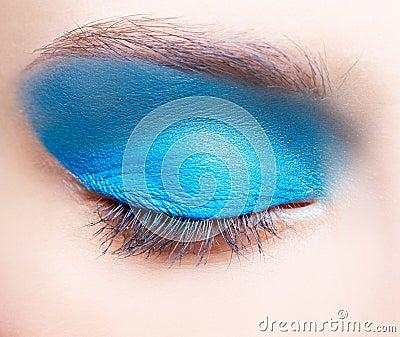 Girl s eye-zone makeup