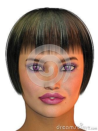 Girl s head