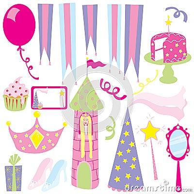 Girl s princess party