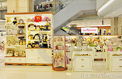 Girl 39 s toys and accessories shop editorial stock photo for Accessoires shop