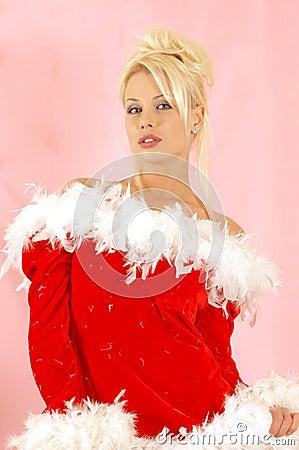 Free Girl Santa Clause Royalty Free Stock Photo - 405855