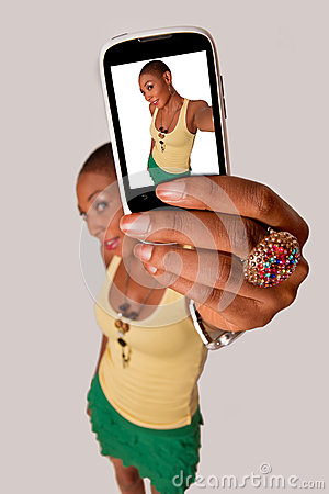 Free Girl Selfie Royalty Free Stock Photo - 43394205