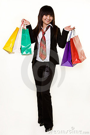 Girl shopper