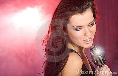 singing the girl retro - photo #37