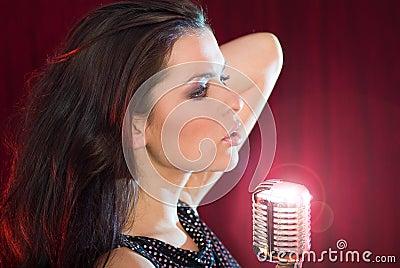 singing the girl retro - photo #46