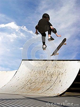 Free Girl Skateboarding Stock Image - 87831