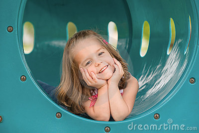 Girl on the Slide