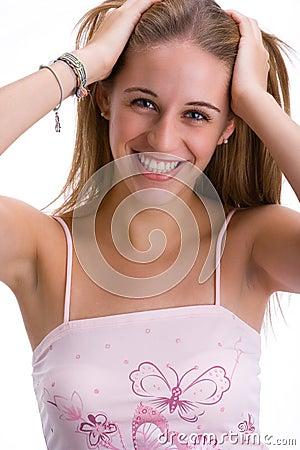 Girl smiling 4
