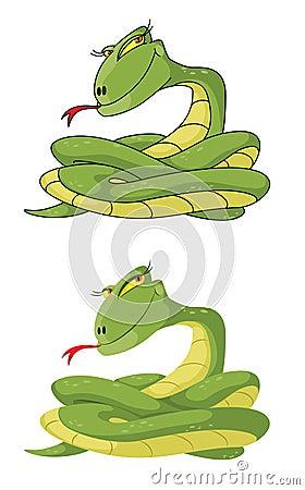 Girl snake set
