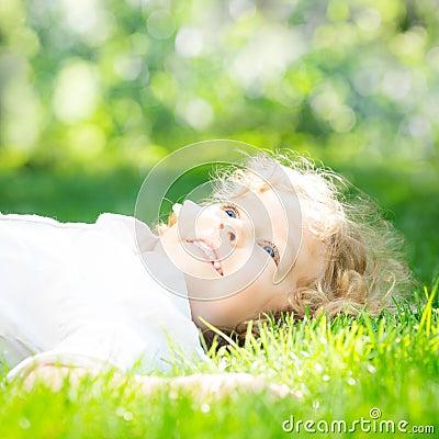 Girl in spring