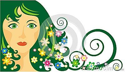 Girl-spring