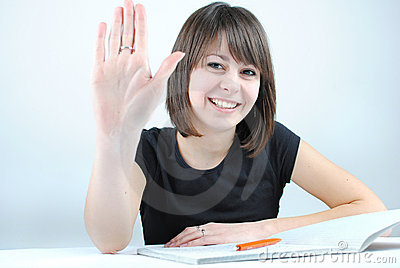 Girl student