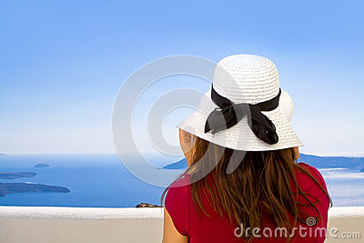 Girl with Sun Hat