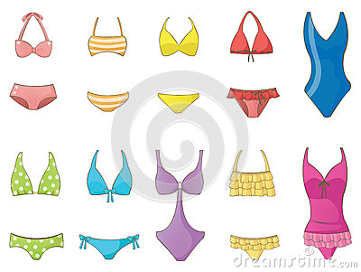 Girl Swimsuit collection set