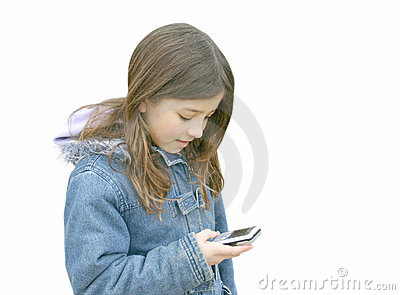 Girl talking on mobile 3