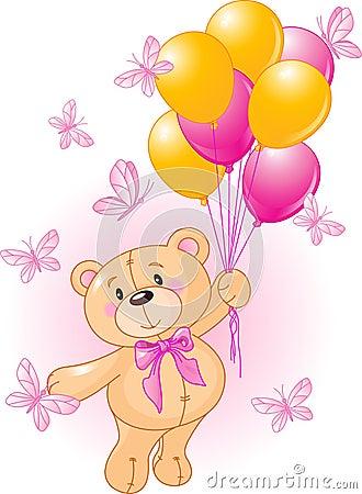 Free Girl Teddy Stock Photos - 10086323
