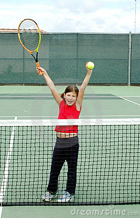 Girl tennis 3