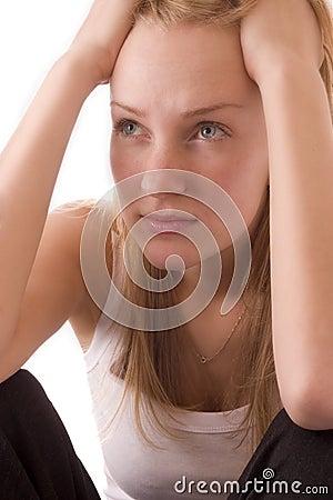 Free Girl Thinking Stock Image - 4942911
