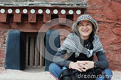 Girl in Tibet