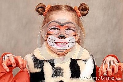 Girl-Tiger