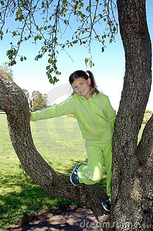 Girl and tree 2