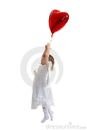 Free Girl Try To Fly Stock Image - 13214761