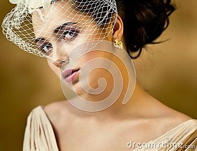 Girl with a veil