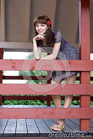 Free Girl Walking Outdoor Stock Photos - 20699303
