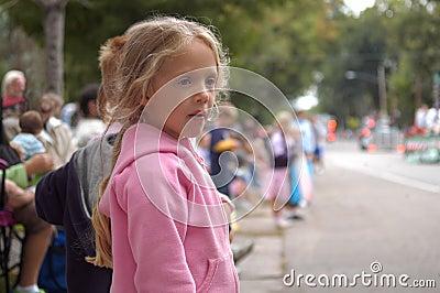 Girl Watching Parade