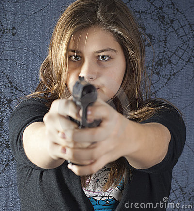 Girl with a weapon