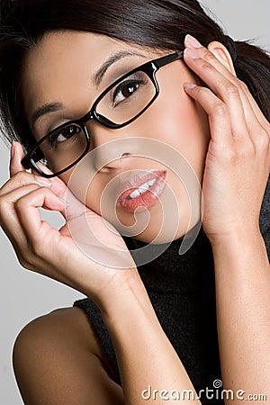 Free Girl Wearing Eyeglasses Stock Photo - 9067270