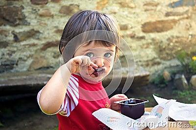 Girl who eats
