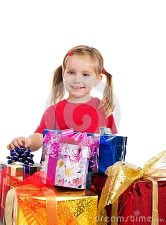 Girl wih the gifts