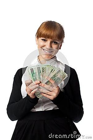 Girl win lots of money