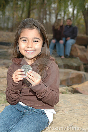 Free Girl With A Turtle Stock Photo - 5158400