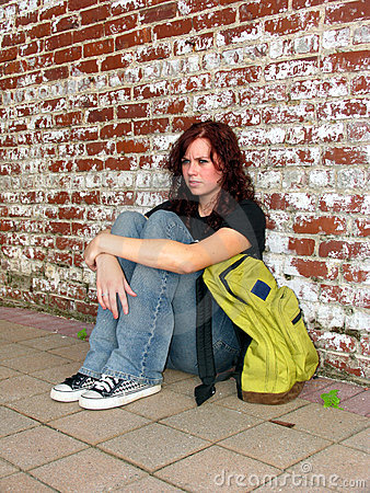 Free Girl With Bag 5 Royalty Free Stock Photography - 206107
